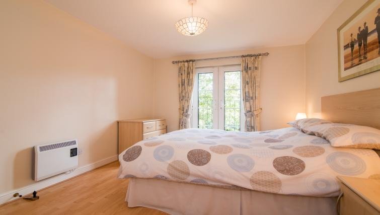 Cosy bedroom at Laurieston Cheadle Apartment