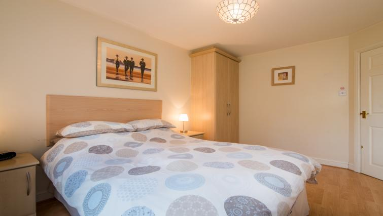 Double bedroom at Laurieston Cheadle Apartment