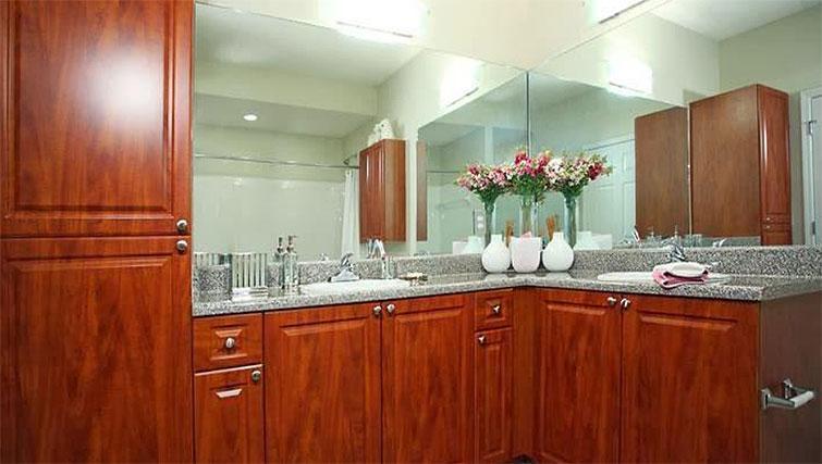 Bathroom at Seventeen West Apartments