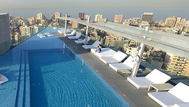 Pool at Staybridge Suites Beirut