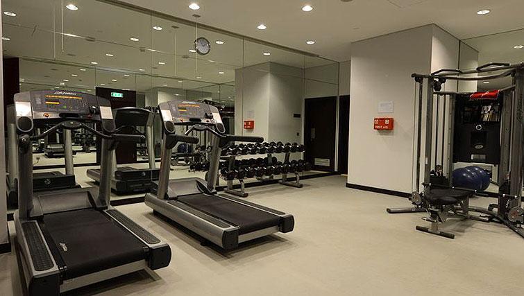 Fitness centre at Staybridge Suites Beirut