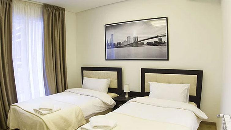 Bedroom at Kantari Suites