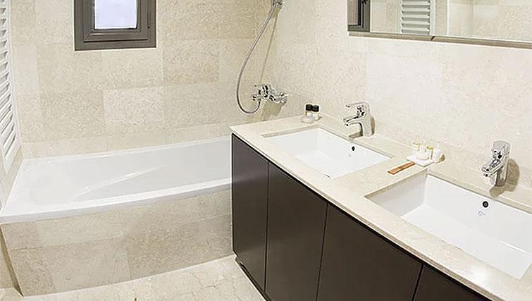 Bathroom at Kantari Suites
