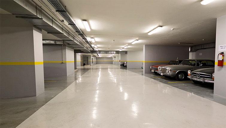 Car park at Kantari Suites