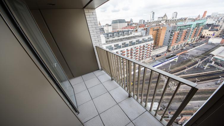 Balcony at Cambridge Street Apartments