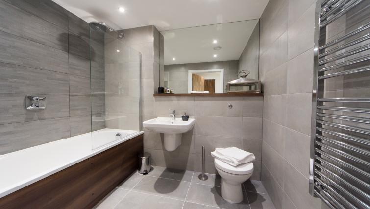 Bathroom at Cambridge Street Apartments