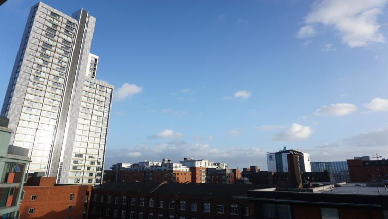 View at Cambridge Street Apartments