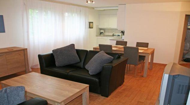 Living room at Haldenstrasse 6 Apartment, Centre, Zug
