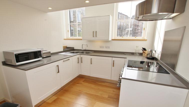 Kitchen at Broughton Street Lofts