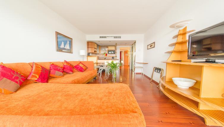 Living space at Residence Le Quai des Princes
