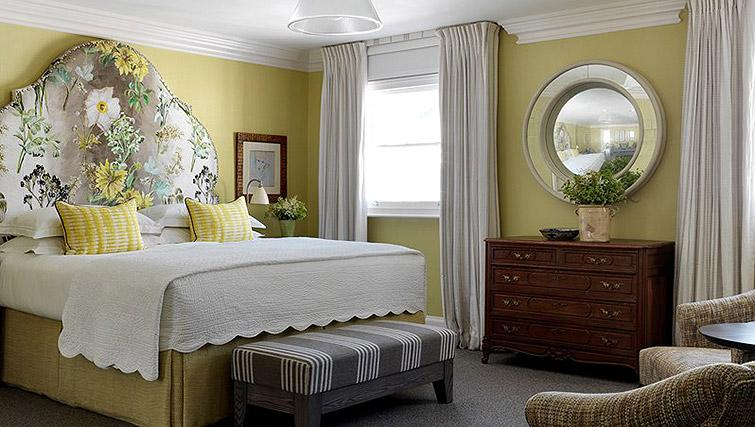 Double bedroom at Haymarket Townhouse