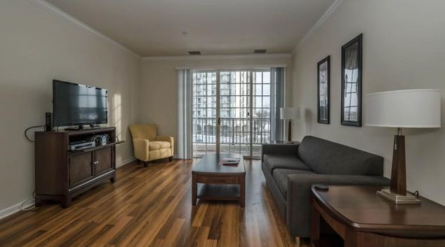 Stunning living space at Regency Apartments