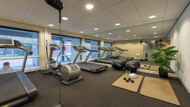 Gym at Htel Amsterdam BuitenveldertHtel Amsterdam Buitenveldert