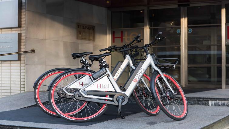 Bikes at Htel Amsterdam Buitenveldert
