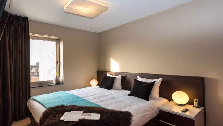 Master bedroom at Htel Amsterdam Buitenveldert