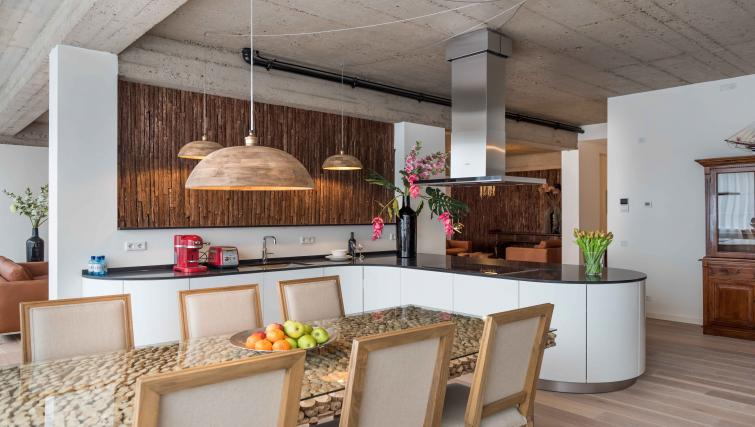 Stylish kitchen at Htel Amsterdam Buitenveldert