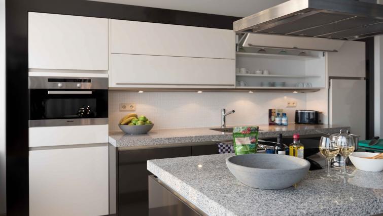 Kitchen at Htel Amsterdam Buitenveldert