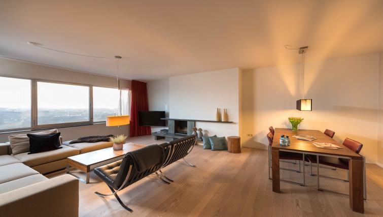 Living area at Htel Amsterdam Buitenveldert