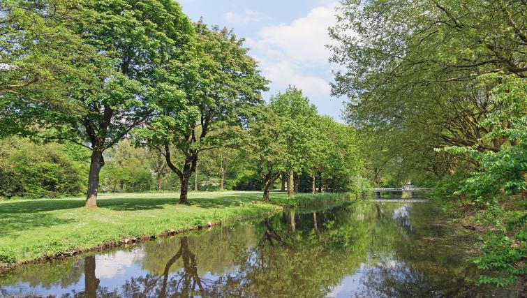 Area view at Htel Amsterdam Buitenveldert