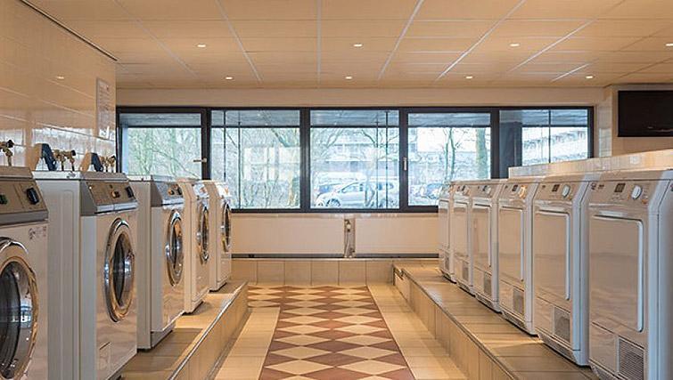 Communal laundry at Htel Amstelveen, Amsterdam
