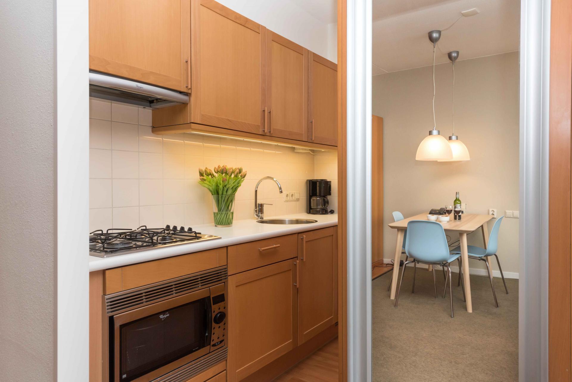 Kitchen facilities at Htel Amstelveen, Amsterdam