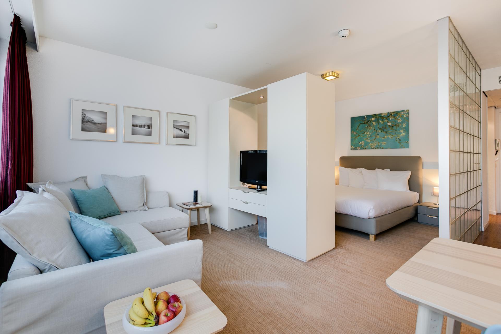 Living room at Htel Amstelveen, Amsterdam