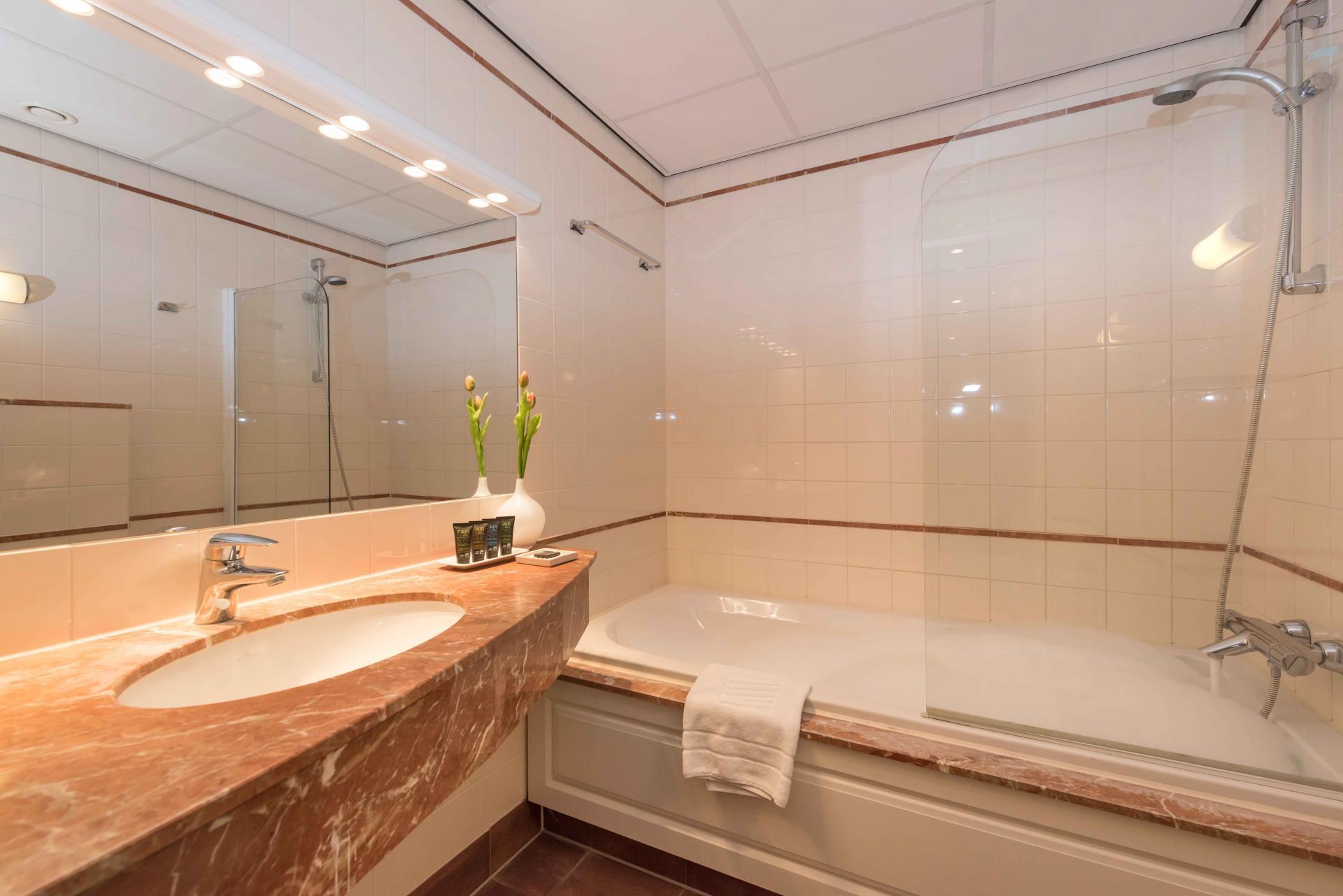Bathroom at Htel Amstelveen, Amsterdam