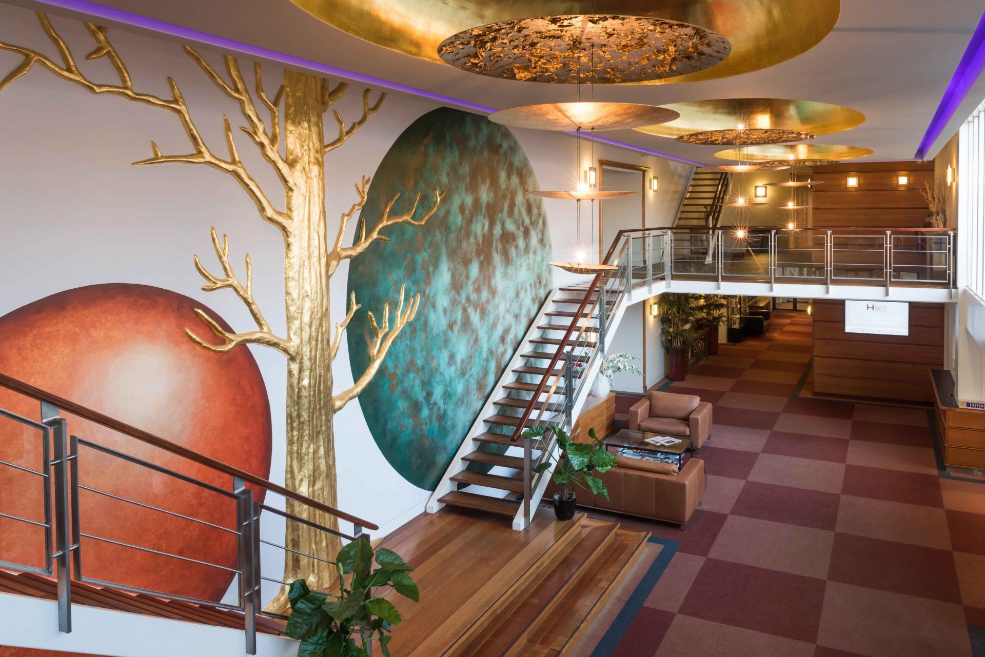 Lobby at Htel Amstelveen, Amsterdam