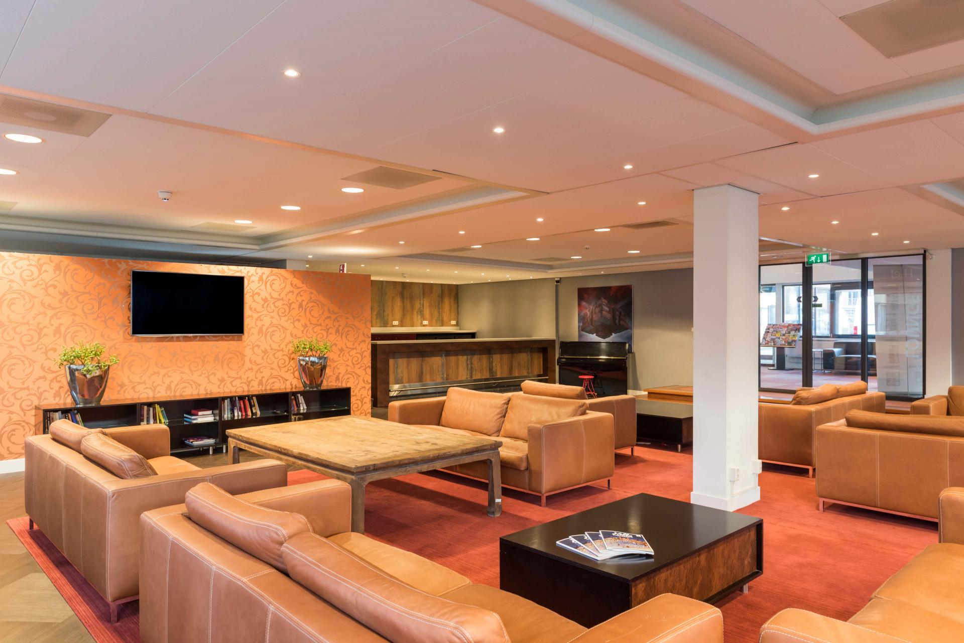 Communal lounge at Htel Amstelveen, Amsterdam