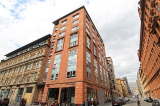 Exterior of Ingram Apartments, Merchant City, Glasgow