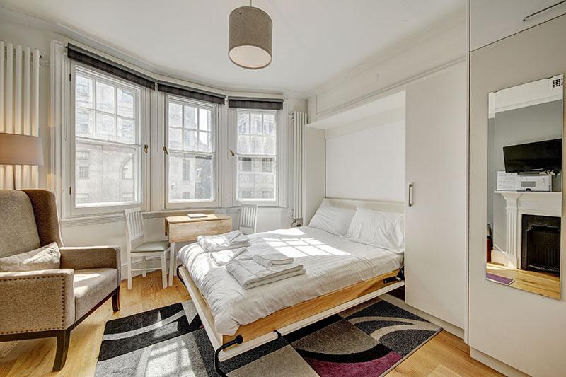 Bedroom at Abchurch Yard Apartments