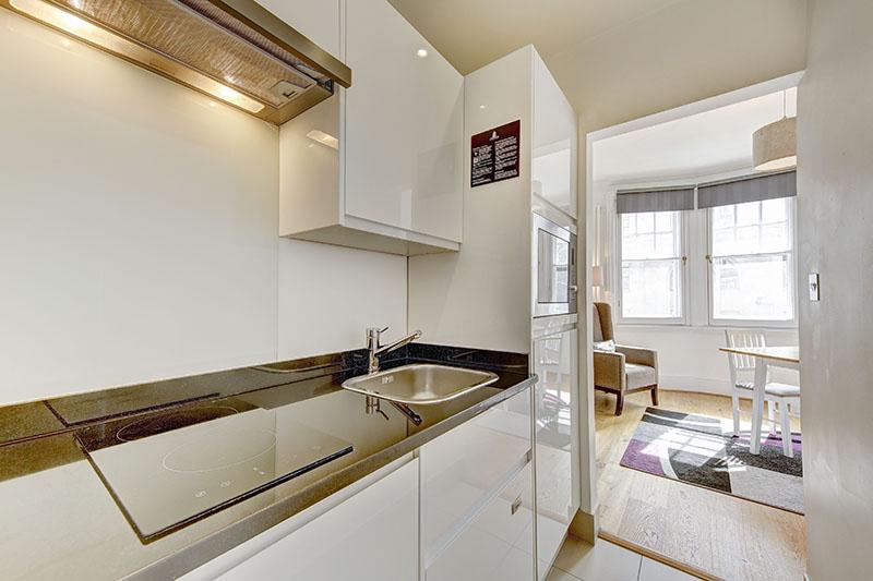 Kitchen at Abchurch Yard Apartments