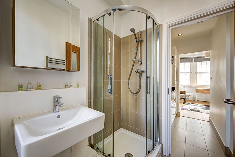 Bathroom at Abchurch Yard Apartments