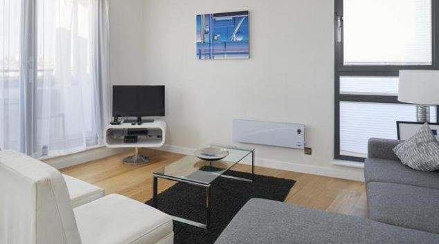 Living space at SACO Fitzrovia