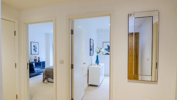 Hallway at Victoria Street Apartments