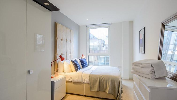 Bedroom at Victoria Street Apartments