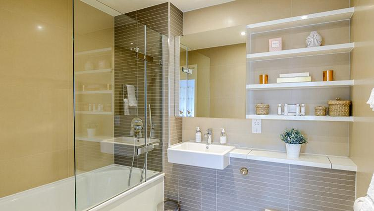 Bathroom at Victoria Street Apartments