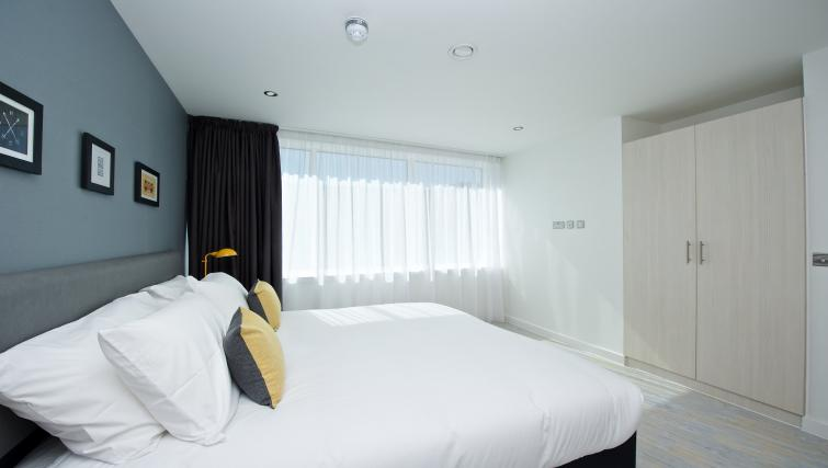 Ideal bedroom at Staycity Manchester Piccadilly