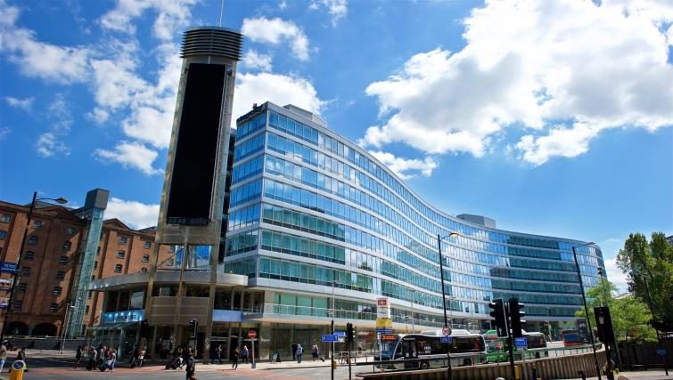 Exterior of Staycity Manchester Piccadilly