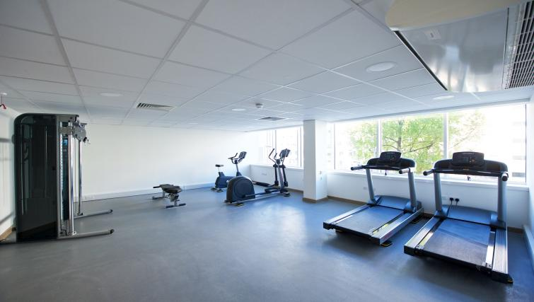 Gym at Staycity Manchester Piccadilly