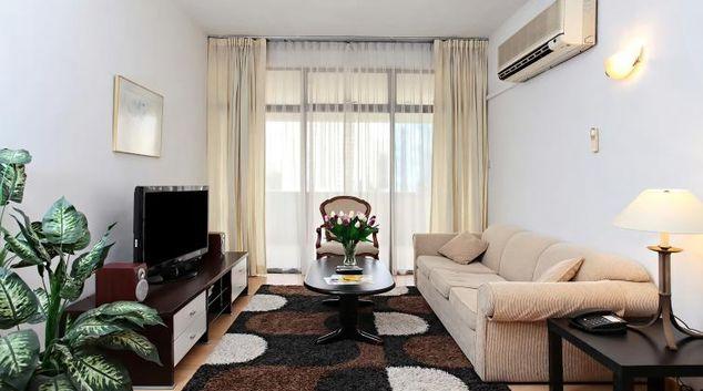 Living area at Far East Plaza Residences, Singapore