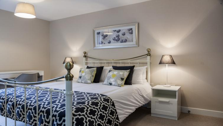 Bed at The Bellerby Apartments