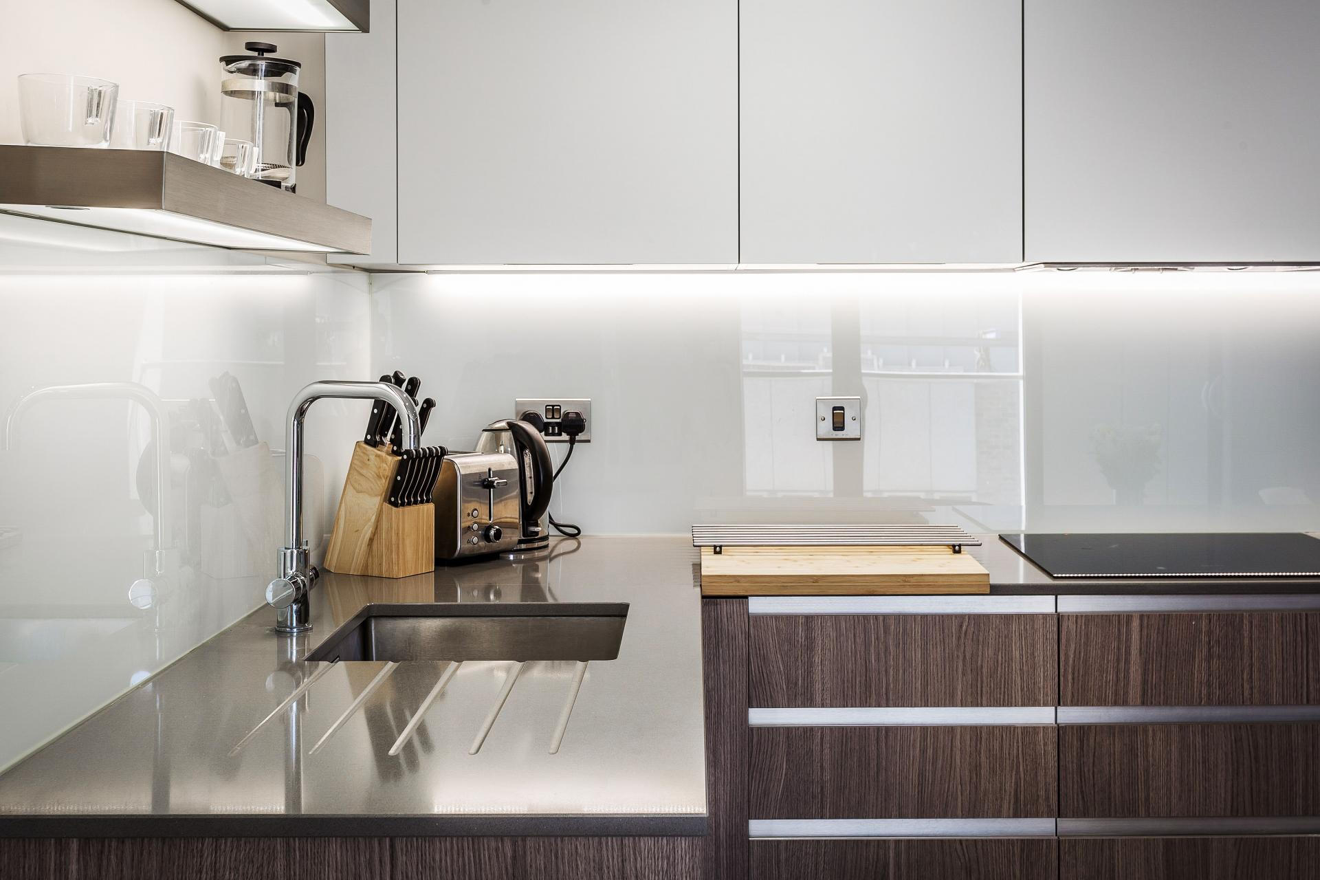 Worktop at The Bellerby Apartments