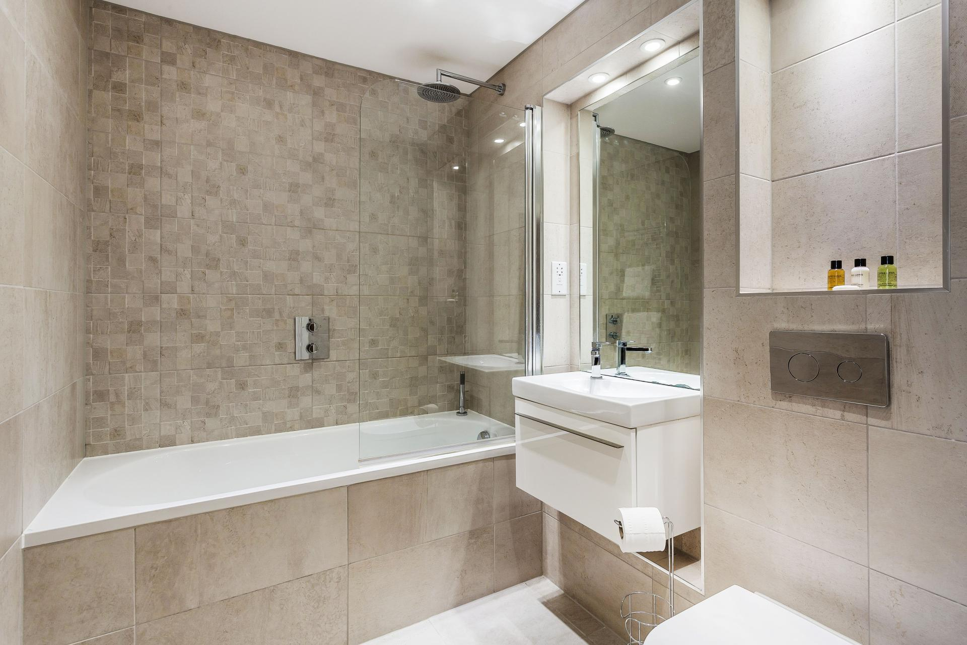 Bath at The Bellerby Apartments