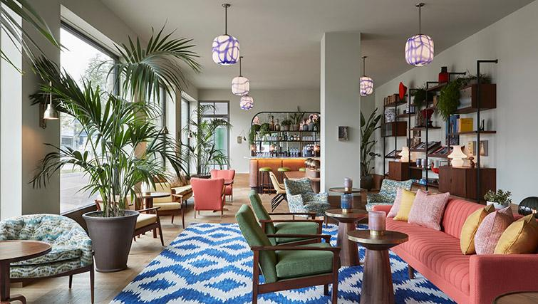 Lounge at Hotel Twenty Eight Apartments, Amsterdam