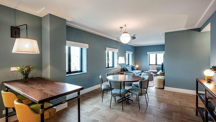 Dining area at Hotel Twenty Eight Apartments, Amsterdam