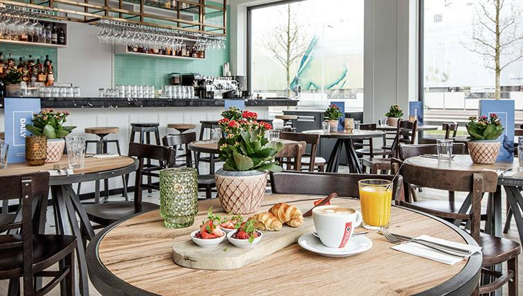 Cafe at Hotel Twenty Eight Apartments, Amsterdam