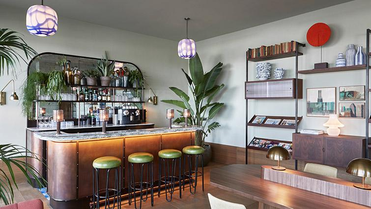 Bar at Hotel Twenty Eight Apartments, Amsterdam