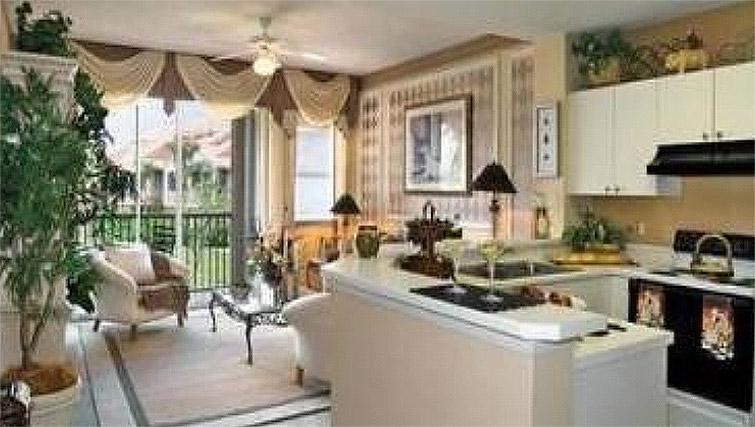 Living area at San Michele Weston Apartment