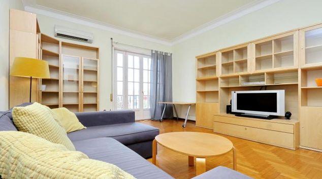 Living area at Trieste Apartment